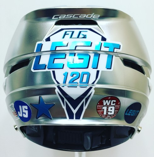 Legit Boys Helmet Back Decals