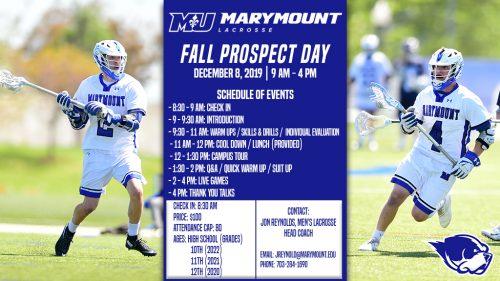 Marymount University Men's Prospect Day
