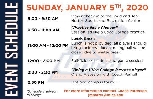 Utica College Men's Prospect Day